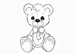 Small Picture Teddy Bear Coloring Pages Teddy Bear Pinterest Teddy bear