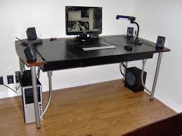 computer desk with wire management show me your computer desk wire management ikea computer desk
