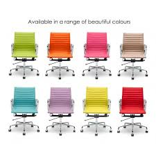 coloured office chairs. Iconic Designs Style Lilac Short Back Ribbed Office Chair Coloured Chairs O