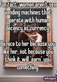 Fun Facts About Vending Machines Fascinating Fun Fact Women Aren't Sex Vending Machines That Operate With Human