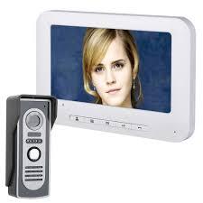 "<b>Yobang Security</b> 7"" Color Screen Home <b>Video</b> Interphone ..."