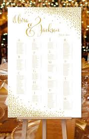 Etsy Wedding Seating Chart Alphabetical Pin By Erin Kinsella On Table Assignments In 2019 Wedding