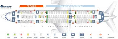 seat map and seating chart aeromexico boeing 787 8 dreamliner airlinesfleet