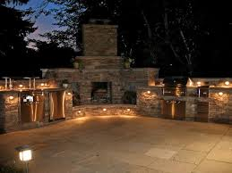 outdoor kitchen lighting. 2014 Outdoor Kitchen Lighting In The Central Concept