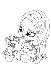 monster high baby coloring pages. Wonderful Pages Baby Monster High Coloring Pages  Page Free  Pages Printable  In O