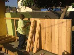 Wood Fence Design Plans How To Building A Cedar Fence Hgtv