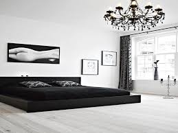 Black Bedroom Ideas New Black And White Bedroom Interior Design Ideas
