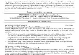 licious resume templates educational assistant resume samples for child development resume