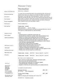 Visual Merchandiser Cover Letters 91 Visual Merchandiser Job Description Resume Fashion