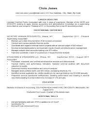 Objective On Resume Best Career Objectives For A Resume Universitypress