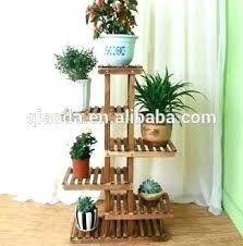 outdoor wooden plant stands wood customized unique indoor corner stand tiered plans outdoor wooden plant stands