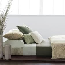 Calvin Klein Bedroom Furniture Amazoncom Calvin Klein Home Briar Standard Sham Eggshell Home
