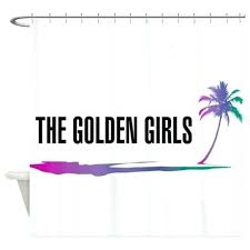girls shower curtain black girl magic the golden