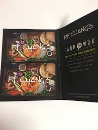 pf chang gift card 100 value 1 of 1 see more