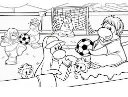 Small Picture Playing Soccer Game After School Coloring Page Playing Soccer