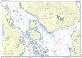 Noaa Chart 17383 Snow Passage Alaska