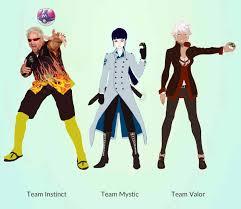 Team Leaders Fanart Oc I Drew The Three Team Leaders For Instinct