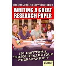 cheap research paper helper research paper helper deals on  get quotations · the college student s guide to writing a great research paper 101 easy tips tricks