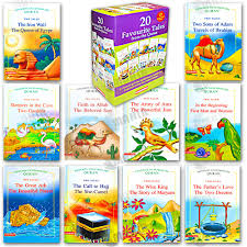 kids story book 20 favourite tales from the quran gift box ten hard bound book