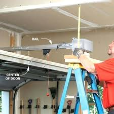 installing garage door openers the cost of opener inside installation decorations 17
