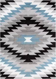 Navajo rug designs Navajo Weaving Two Grey Hills Navajo Grey Southwestern Geometric Rug Well Woven