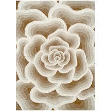 Rose Rug in Cream