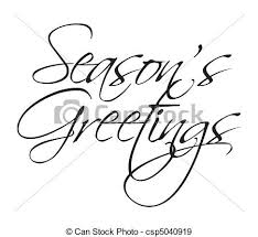seasons greetings clip art black and white. Plain Art Seasons Greeting Type  Csp5040919 To Greetings Clip Art Black And White S