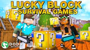 Lucky <b>Block</b> Survival Games in <b>Minecraft</b> Marketplace | <b>Minecraft</b>
