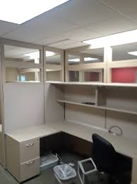 cheap office cubicles. 4 PERSON CUBICLE SET UP GLASS AT TOP WHOLE UP$800 Cheap Office Cubicles 7