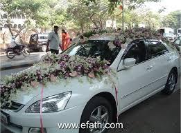 full decorate wedding car stan desktop wedding car decoration stock photo image on hd new full