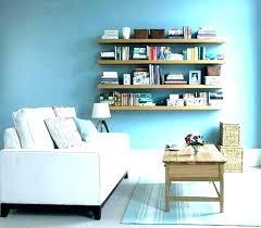 diy wall shelves for books floating fresh faux bookshelf