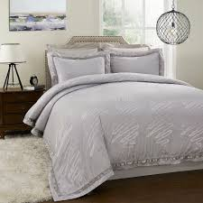 Online Buy Wholesale silver cover bed from China silver cover bed ... & Yarn Dyed Bamboo Poly silk cotton Jacquard Bedding Set Silver(China  (Mainland)) Adamdwight.com