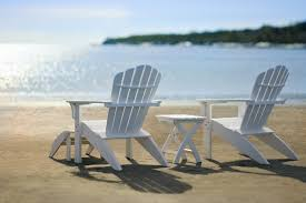 Adirondack chairs on beach Heavy Duty Best Adirondack Chairs On Beach With Coastline Adirondack Composite Chairs By Seaside Casual Arkleorg Top Adirondack Chairs On Beach With Image 16 Of 18 Arkleorg