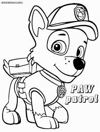 Printable Paw Patrol Coloring Pages Or Paw Patrol Coloring Pages