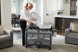 Graco Pack 'n Play Quick Connect Portable Bouncer with Bassinet in ...