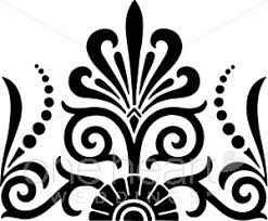 fan clipart black and white. black and white exotic fan clipart