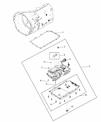 2015 dodge challenger valve body related parts diagram i2313464