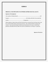 Sickness Certificate Format Student Medical Form Samples Transfer Of Information Report Lausd