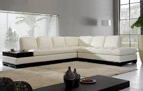 ... L Shaped Sofa Design Simple Modern White Vases Adorable Home Furniture  Black Wooden Rectangular Table Medium ...