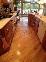 Wood Floor For Kitchens Designing Your Floor To Make Your Kitchen Feel Bigger