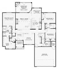 Hester 29344  Tuscan Home Plan At Design BasicsOpen Floor Plans For One Story Homes
