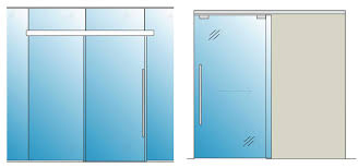 cloud isted close sliding gl door elevation