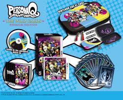 Q The Game Persona Q The Wild Cards Premium Edition Announced Gematsu