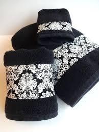 black and white bath towels. Paris Bath Towels Bathroom Set Piece Towel Black And Hand White