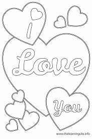 Small Picture Printable Coloring Pages Love