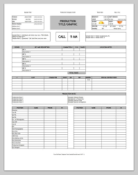 contact spreadsheet template free download call sheet template the only one youll ever need