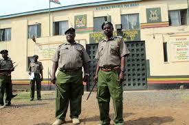 Image result for men in police cell kenya
