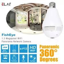 ซอทไหน Elaf Bulb Lamp Wireless Ip Camera Wifi 960p Panoramic