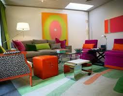 Colorful Living Room Furniture Sets Creative Unique Decoration
