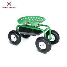 rolling garden cart rolling garden scooter heavy duty steel rolling garden cart work seat w tray